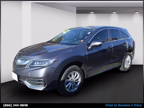 2017 Acura RDX Technology & AcuraWatch Plus Packages